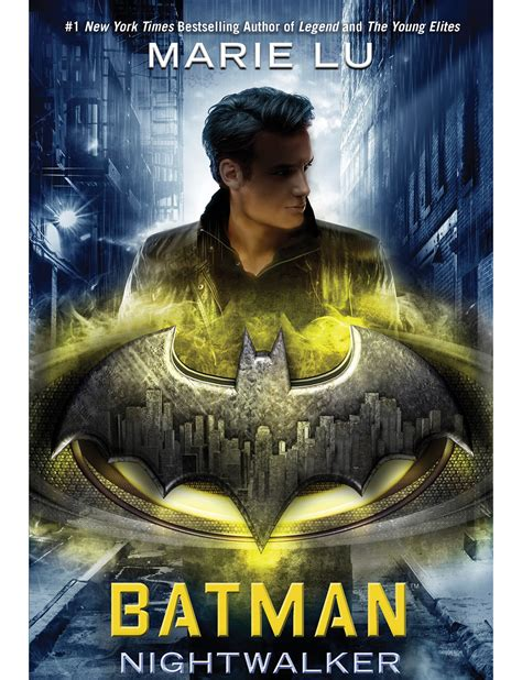 grab your capes the cover of batman nightwalker by lu is here get underlined