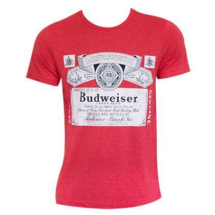t shirt budweiser ifm1 budweiser logo shirt for only c 39