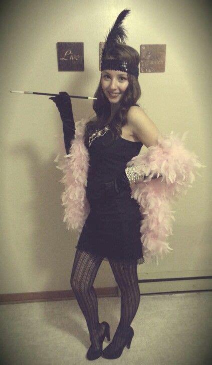 diy flapper girl costume 1920s great gatsby dresses flapper girl easy diy halloween costume i would switch