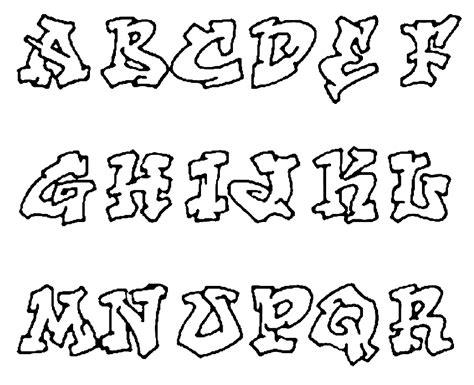 graffiti alfabet graffiti sample