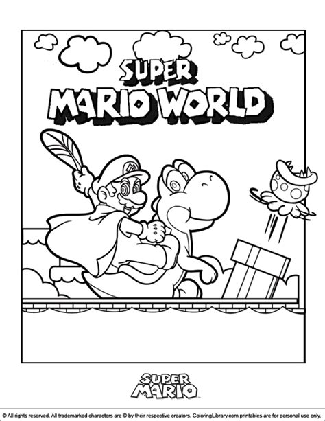 mario bros coloring pages games super mario brothers coloring picture