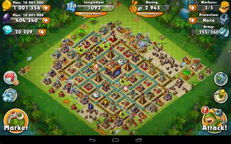 layout game of war jungle heat war of clans android apps on google play