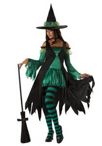 make witch costume halloween emerald witch costume