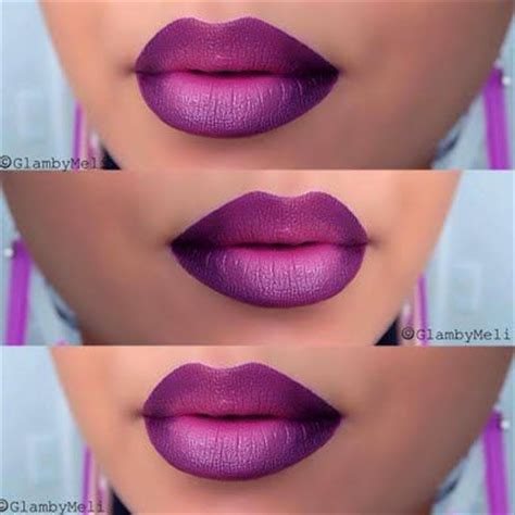 Lipstick Ombre Purple purple ombre by m ombre best and tea roses