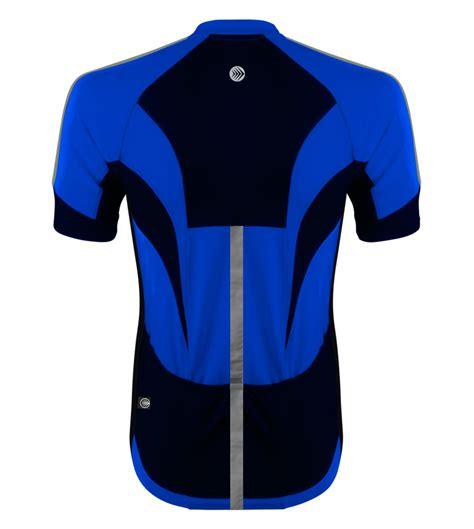 mens hi vis cycling high vis reflective cycling jersey made for visibility