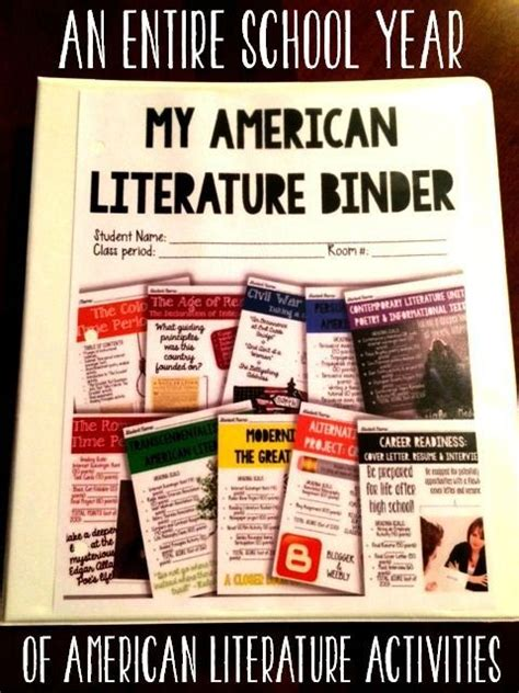 themes american literature literature activities and student on pinterest