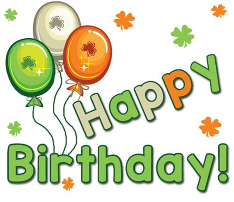 Happy St. Patrick?s Day Birthday! Free Birthday eCards