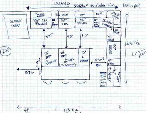kitchen layout dimensions with island kitchen dimensions metric kitchen xcyyxh com archiref