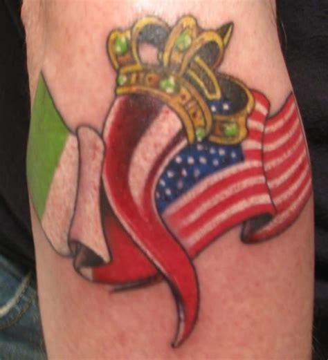 italian american tattoo designs american flag ideas and american flag