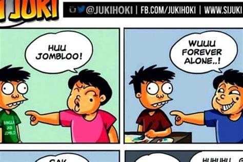 Komik Jomblo 15 komik paling jujur yang gambarkan suka duka hidup para