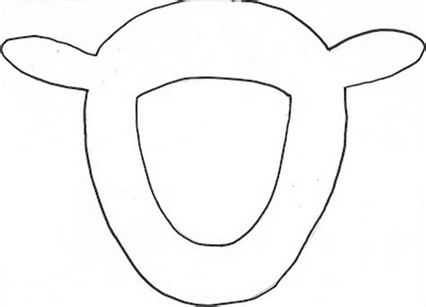 free printable sheep mask template having fun at home lamb mask
