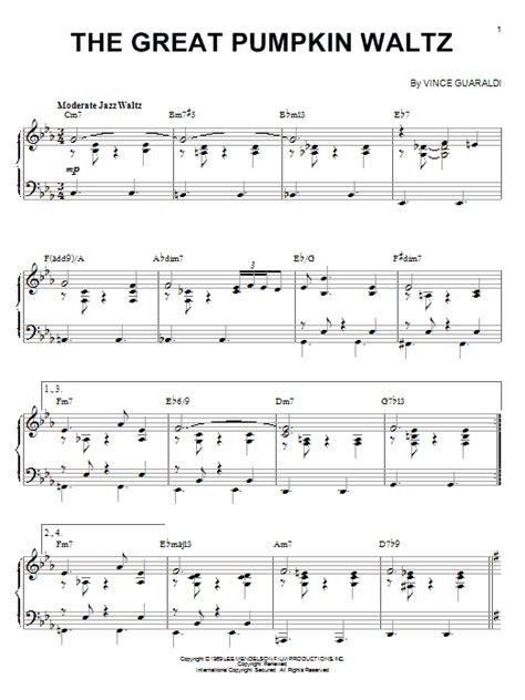 Guitar Tab The Great Pumpkin Waltz Video Dailymotion | vince guaraldi the great pumpkin waltz piano
