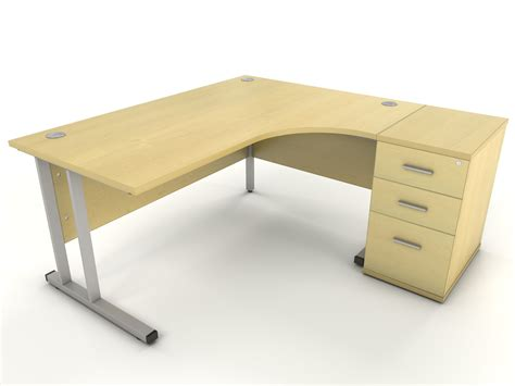maple corner desk icarus office furniture