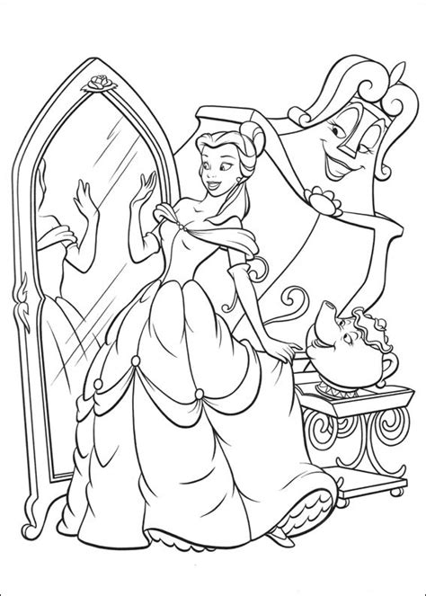printable coloring pages beauty and the beast free printable beauty and the beast coloring pages for kids