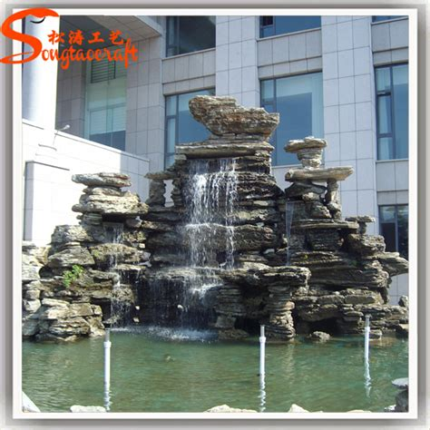 backyard waterfalls for sale 2015 sale new style high durability decoration china
