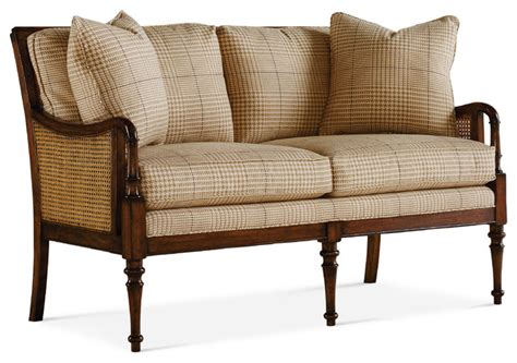 english settee english cottage settee eclectic loveseats by baker