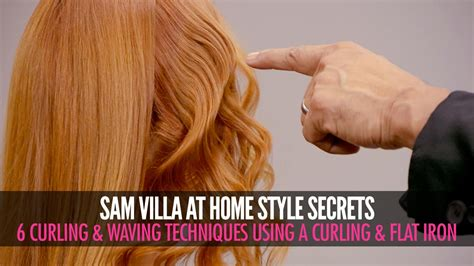 different ways to curl your hair with a wand 6 different ways to curl your hair sam villa youtube