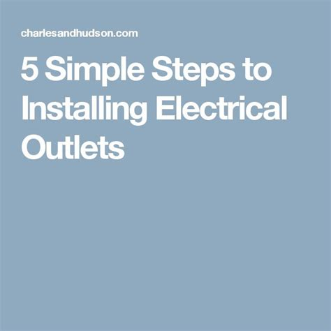 best 25 installing electrical outlet ideas on