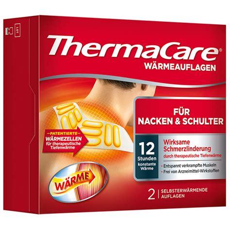 Nacken Schulter by Thermacare 174 W 228 Rmeumschl 228 Ge Nacken Schulter Und Arme