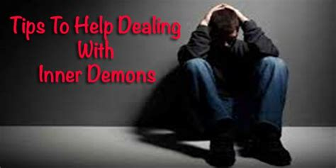 Fights Personal Demons by Tips Dealing With Inner Demons Personal Development