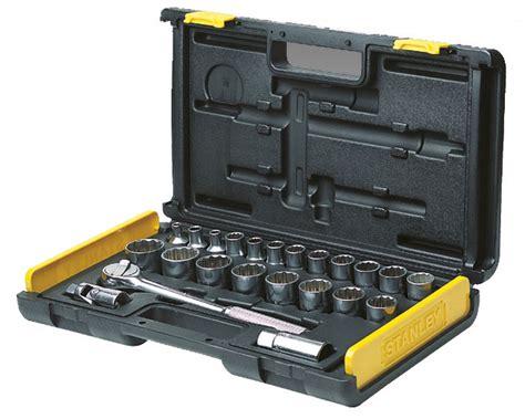 Socket Wrench Set 27 Pcs stanley tools storage mechanics tools sockets and ratchets 27 socket set