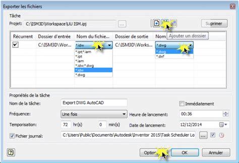 format dwg ouvrir inventor conversion idw en dwg autocad aplicit