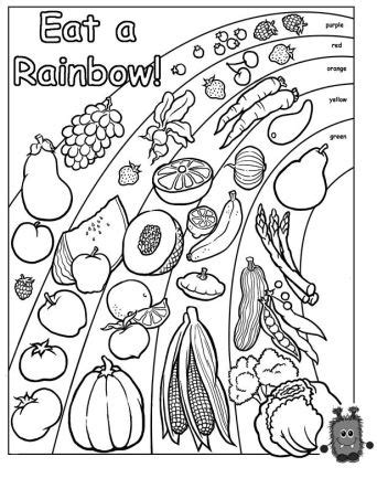 coloring pages food nutrition mindful eating nutrition omazing kids