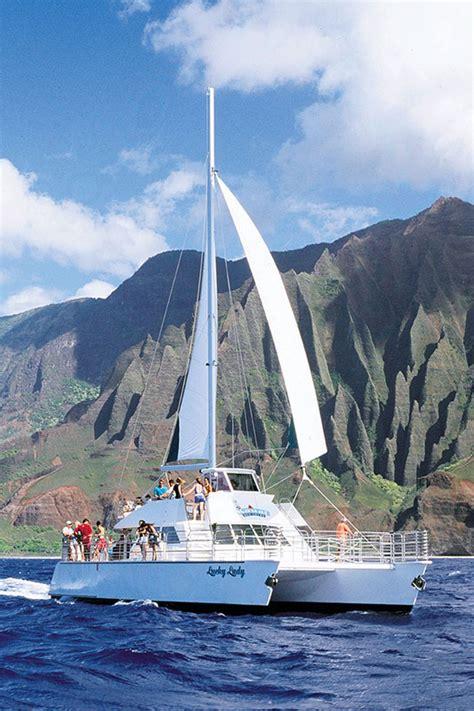 catamaran tours kauai catamaran photo gallery kauai sea tours