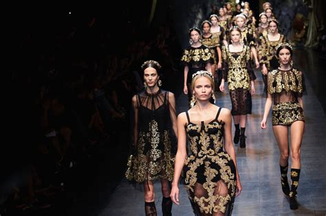 Milan Fashion Week Day Up by Poly Photos Photos Dolce Gabbana Runway
