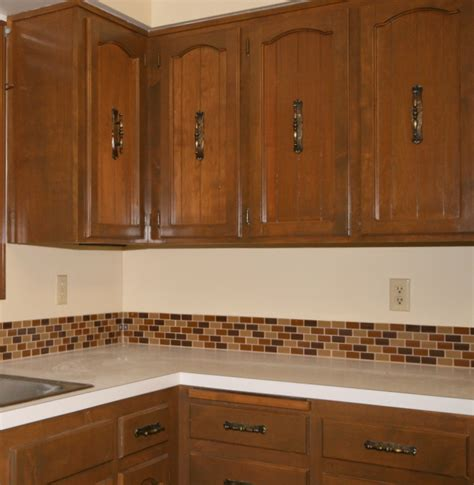 how to install a backsplash in the kitchen affordable tile backsplash add value to your kitchen or