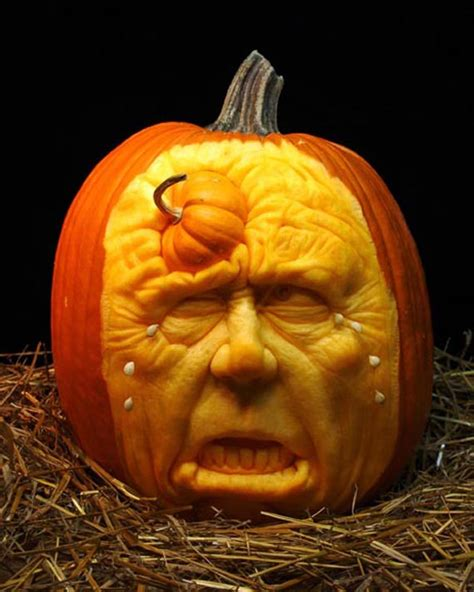 best carved pumpkins 25 best pumpkin carvings brush up your creativity