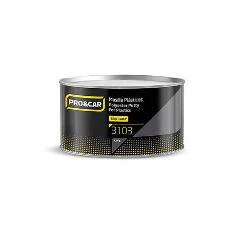 Polyester Putty Alpa 1klg polyester putty for plastics 1kg pro car