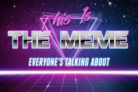 Text Meme Generator - retro wave 80s text meme generator how to