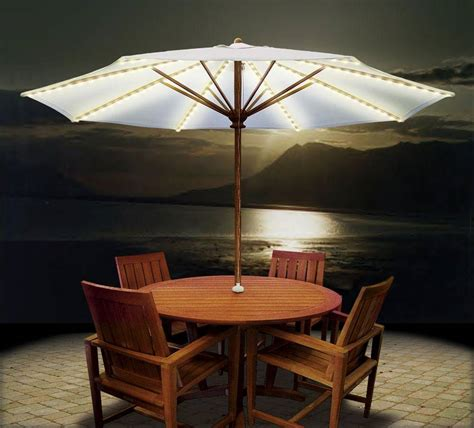 Patio Umbrella Lighting Brella Lights Umbrella Lights Lighting System Bl078