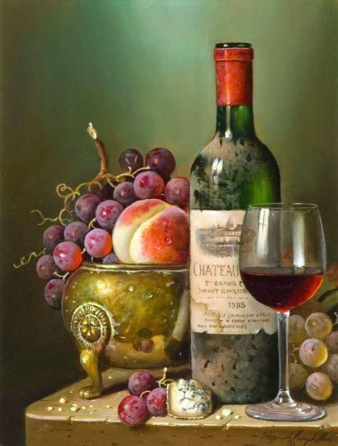 imagenes de uvas y pan im 225 genes arte pinturas cuadros pintados al oleo de bodegones