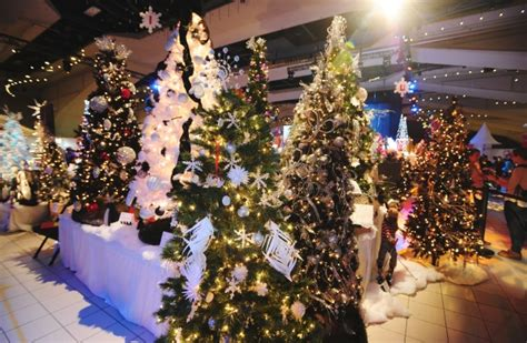 photos festival of trees transforms shaw conference centre