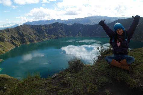imagenes de paisajes del ecuador fotos de lago en paisajes ecuador guaranda 8264673