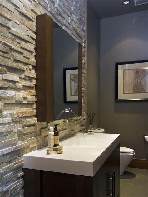 dinner in the sky bathroom 50 paredes com pedras como revestimento fotos