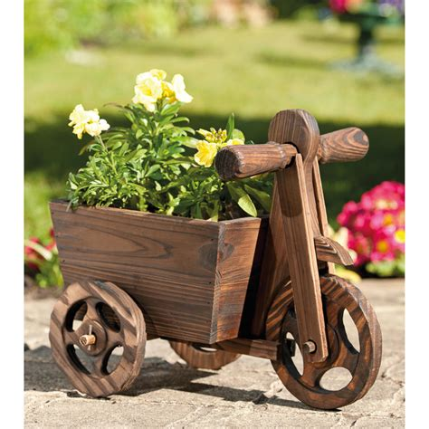 Tricycle Planter by B M Gt Tricycle Wooden Planter 176229