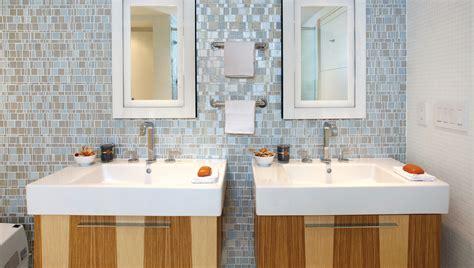 bathroom mosaic tile backsplash 5 creative ways to transform your bathroom by adding