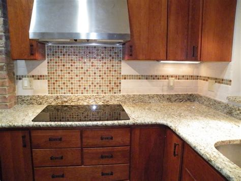 tile kitchen backsplash mosaic glass tiles backsplash