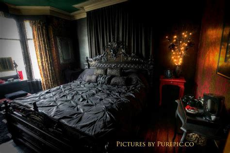 gothic inspired bedroom bedrooms interior design interiors gothic beatrice