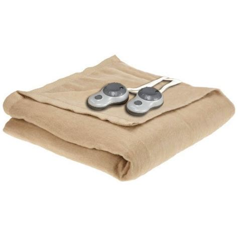 heated blanket sunbeam electric heated warming blanket ebay