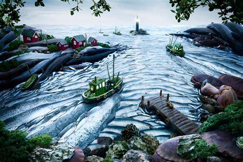 Landscape With Food Spotlight Carl Warner Photoshop
