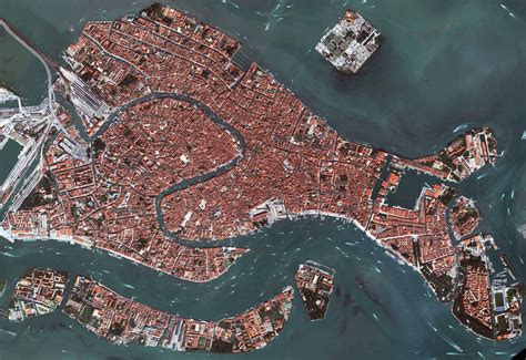aerial map of venice aerial map venice italy mappery