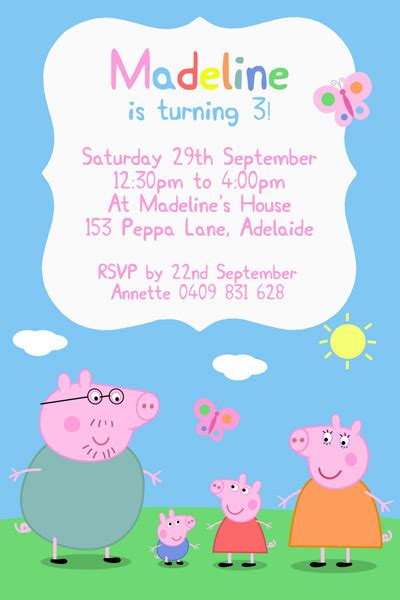 how to throw a splashingly wonderful peppa pig party for