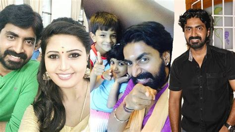 mouna ragam heroine real photos vijay tv chinnathambi serial actor prajin family photos