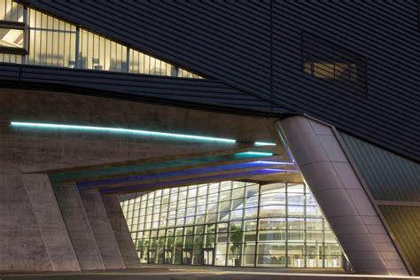 bmw central building in leipzig architect zaha hadid designed the neofuturistic bmw