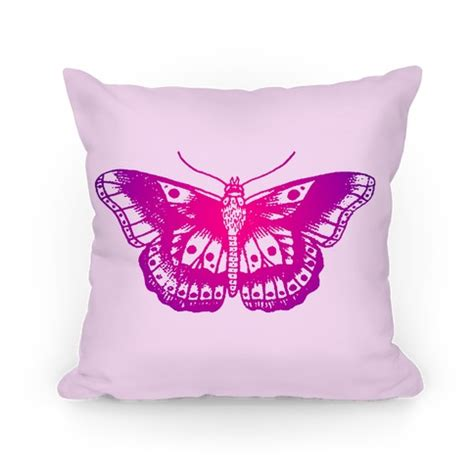 Purple Butterfly Pillow by Purple Butterfly Pillows And Pillow Cases Human