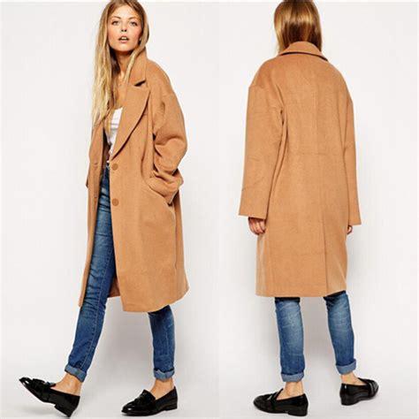 camel colored coat womens camel wool trench coat womens jacketin